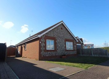 Thumbnail 2 bed detached bungalow for sale in Tern Gardens, Bradwell, Great Yarmouth