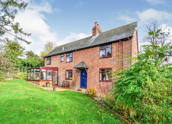 Thumbnail 4 bed detached house for sale in Stockbridge Road, Kings Somborne, Stockbridge