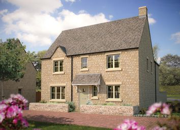 Thumbnail 4 bedroom detached house for sale in Cinder Lane, Fairford