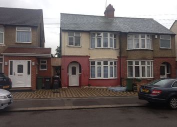 Thumbnail 3 bed semi-detached house to rent in Broadmead, Luton