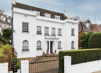 Thumbnail 6 bed detached house for sale in West Heath Road, London