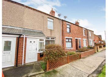 West Terrace, Choppington NE62. 2 bed terraced house for sale