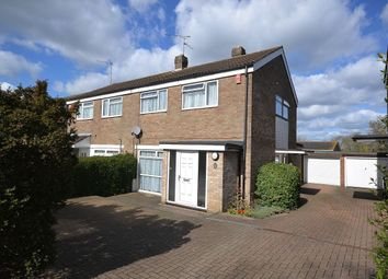 Thumbnail 3 bed semi-detached house for sale in Rundells, Harlow