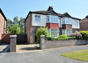 Thumbnail 3 bed semi-detached house to rent in Cambrai Avenue, Warrington