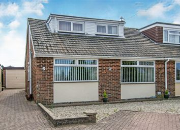 Thumbnail 3 bed semi-detached bungalow for sale in Cere Road, Sprowston, Norwich