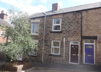 Thumbnail 1 bed terraced house to rent in Kelsey Terrace, Barnsley
