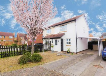 Thumbnail 2 bed semi-detached house for sale in Weavercroft, Didcot