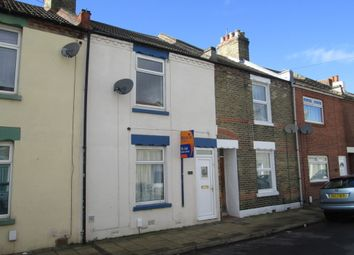 Thumbnail 3 bed terraced house to rent in Leonard Road, Gosport