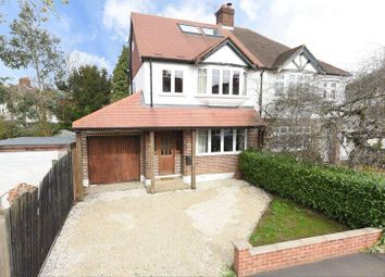 Thumbnail 4 bed semi-detached house for sale in Windsor Avenue, West Molesey