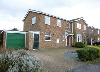 Thumbnail 3 bedroom semi-detached house for sale in Eaton Ford, St Neots, Cambridgeshire