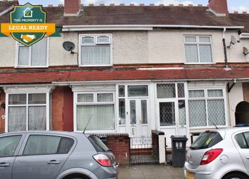 3 bed terraced house for sale in Tew Park Road, Handsworth, Birmingham B21