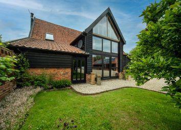 Thumbnail 7 bed barn conversion for sale in The Moor, Banham, Norwich