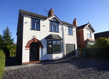 Thumbnail 4 bed detached house for sale in Crewe Road, Sandbach