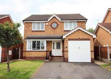Thumbnail 4 bed detached house for sale in Hilltop Rise, Newthorpe, Nottingham