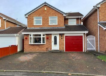 Thumbnail 5 bedroom detached house for sale in Japonica Drive, Leegomery, Telford