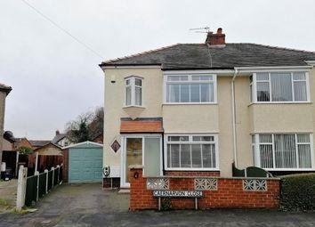 Thumbnail 3 bed semi-detached house for sale in Caernarvon Close, Shotton, Deeside