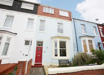 Thumbnail 4 bed terraced house for sale in Percy Road, Whitley Bay