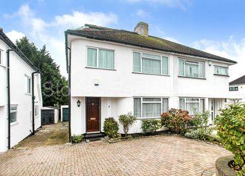 Thumbnail 4 bed semi-detached house for sale in Whitegate Gardens, Harrow Weald, Harrow