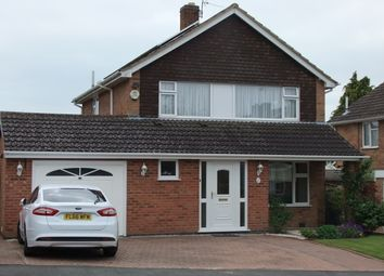 Thumbnail 3 bed detached house for sale in Kelmarsh Avenue, Leicester