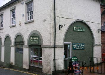 Thumbnail Retail premises for sale in Picasso's Hair Salon, 9A Market Buildings, Ironbridge, Telford