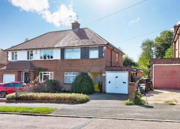 Thumbnail 3 bed semi-detached house for sale in Pondfield Crescent, St. Albans, Hertfordshire