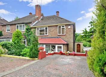 Thumbnail 3 bed semi-detached house for sale in Whitefield Avenue, Purley, Surrey
