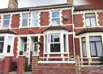 Thumbnail 4 bedroom terraced house to rent in Andrew Road, Cogan, Penarth