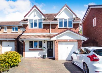 Thumbnail 3 bed detached house for sale in Scoular Drive, Ashington