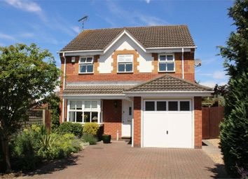 Thumbnail 4 bed detached house for sale in Jasmine Close, Lutterworth