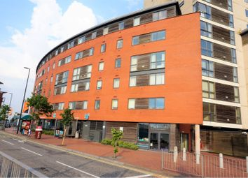 Thumbnail 1 bed flat for sale in Aquila House, Falcon Drive, Cardiff