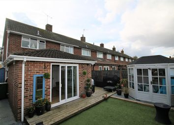 Thumbnail 3 bed end terrace house for sale in Peveral Way, South Ham, Basingstoke