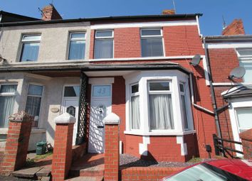 Thumbnail 3 bed terraced house for sale in Tydfil Street, Barry