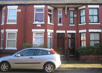 Thumbnail 4 bed terraced house to rent in Redruth Street, Rusholme, Manchester