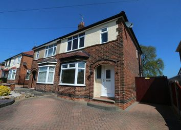 Thumbnail 3 bed semi-detached house for sale in Borrowfield Road, Spondon, Derby, Derbyshire