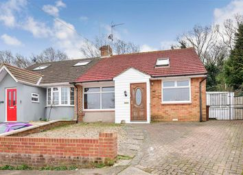 Thumbnail 3 bed semi-detached bungalow for sale in Carlton Crescent, Chatham, Kent