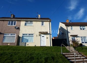 Thumbnail 2 bed semi-detached house for sale in Brynglas Drive, Newport, Newport.