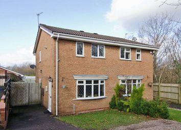 Thumbnail 2 bed semi-detached house for sale in Elder Close, Heath Hayes, Cannock