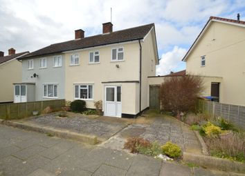 Thumbnail 3 bedroom semi-detached house for sale in Parnell Road, Ipswich