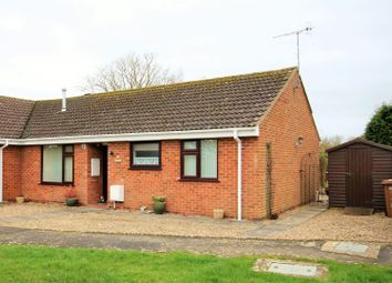 Thumbnail 2 bed semi-detached bungalow for sale in Washington Road, Wickhamford