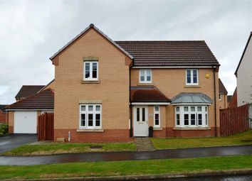 Thumbnail 4 bed detached house for sale in Challum Drive, Motherwell
