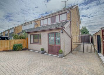 Thumbnail 3 bed semi-detached house for sale in Newton Road, Barton Seagrave, Kettering
