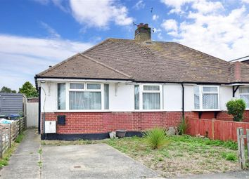 Thumbnail 2 bed semi-detached bungalow for sale in Woodman Avenue, Whitstable, Kent