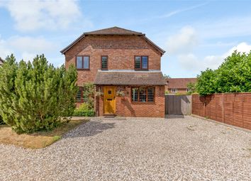 Thumbnail 4 bed detached house to rent in Peasemore, Newbury, Berkshire