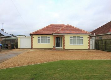 Thumbnail 3 bed detached bungalow for sale in School Road, Tilney St. Lawrence, King's Lynn