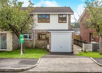 Thumbnail 3 bed semi-detached house for sale in Tylcha Fach Estate, Tonyrefail, Porth