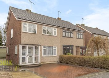 Thumbnail 3 bed semi-detached house for sale in Copthorne Gardens, Hornchurch