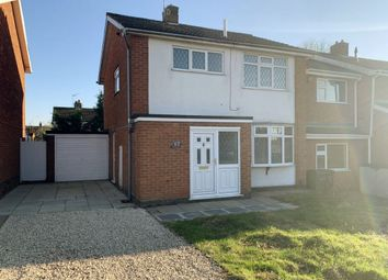 Thumbnail 3 bed semi-detached house to rent in Severn Road, Oadby