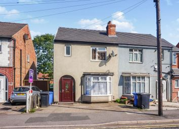 Thumbnail 3 bed semi-detached house for sale in Osmaston Park Road, Derby