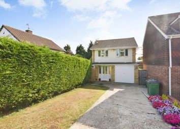 Thumbnail 3 bed detached house for sale in Downs Road, Folkestone