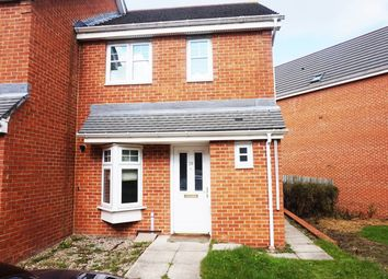 Thumbnail 2 bed semi-detached house for sale in Lauder Way, Gateshead